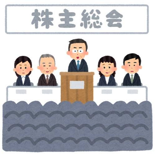株主総会イメージ
