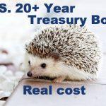 米国国債20年超に連動するETFの実質コストについてのまとめ